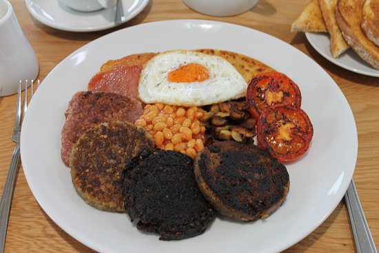 Stranraer, UK: All day breakfast at Driftwood,,