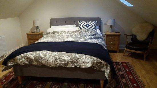 Evercreech, UK: king size bed