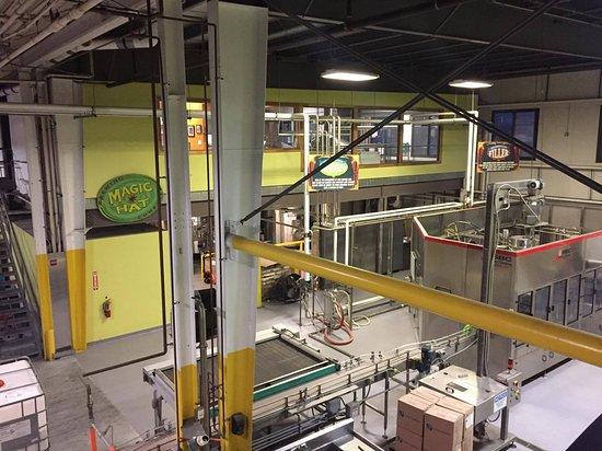 South Burlington, VT: Chaîne de production (embouteillage et emballage)