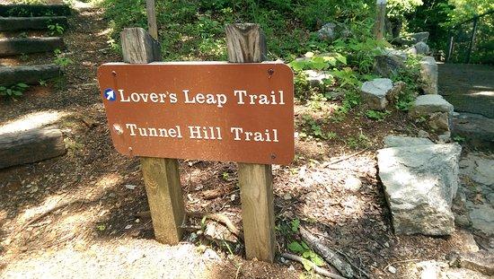 Duffield, Virginie : Trailhead Sign