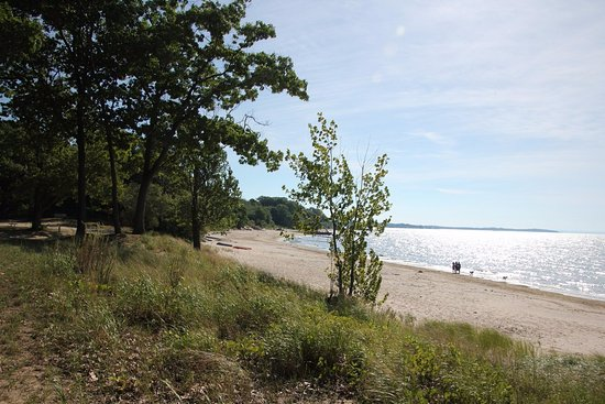 Port Colborne, Kanada: A lovely beach!