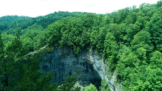 Duffield, Virginie : View of the Tunnel from the Top Overlook