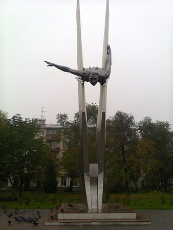Monument to the Aviatress Olga Sanfirova