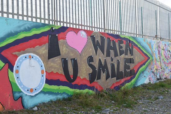 Брей, Ирландия: Street art in Greystones