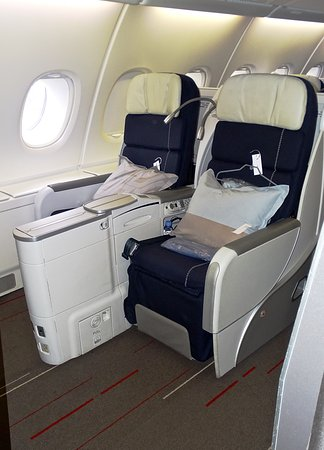 A380 Business Class Seats Picture Of Air France