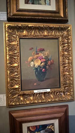 paintings by old masters framed with ornate frames picture of