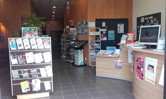La Palme, فرنسا: Accueil de l'Office de Tourisme de La Palme