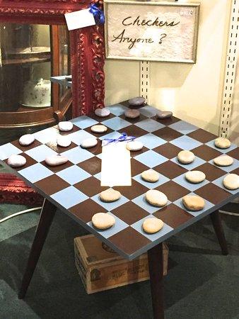 Cumberland, MD: Handmade checkerboard