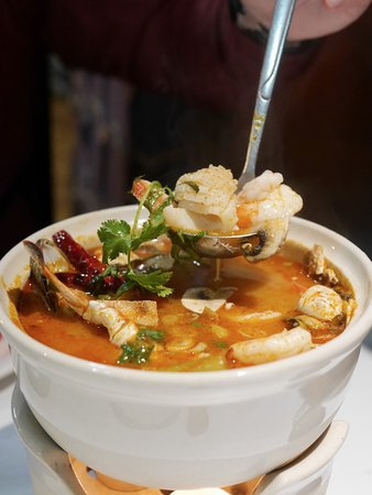 Authentic Thai Taste: Seafood Tom Yum