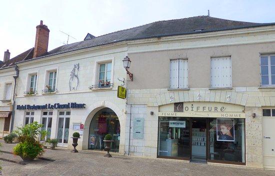 Blere, Francia: L'auberge du Cheval Blanc à Bléré