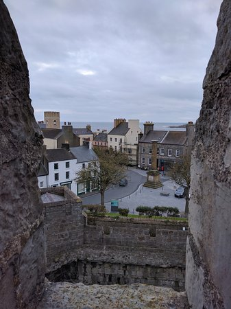 Castletown, UK: View From Castle Rushen