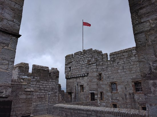 Castletown, UK: Castle Rushen, Inside View