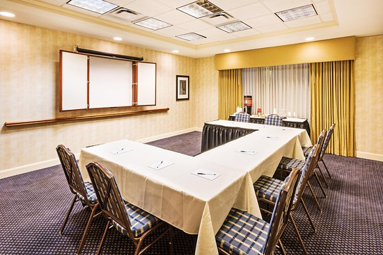 Clinton, SC: Meeting Space - U-Shape Table Setup