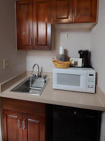 Martinsville, VA: Sink and Fridge