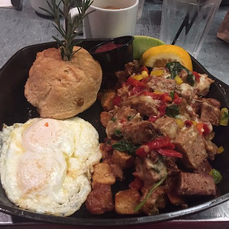 Hash House A Go Go: Meatloaf Hash