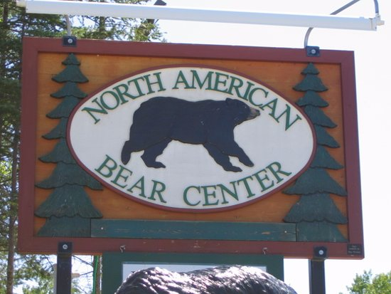 Ely, MN: North American Bear Center Sign
