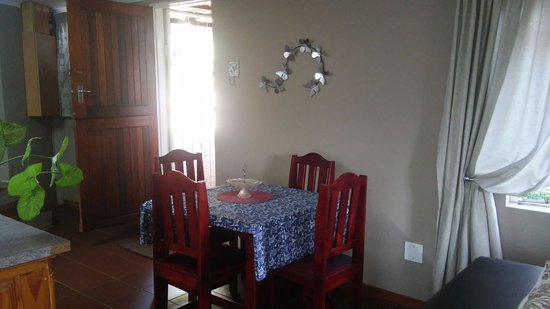 Sabie, Sudáfrica: Tipperary cottage- Dining