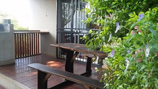 Sabie, South Africa: Tipperary cottage: Private patio & braai
