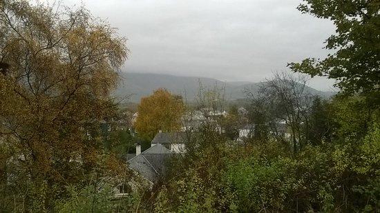Braithwaite, UK: view from road where hotel is