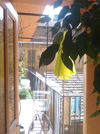 Au Picardy : Le balcon circulaire