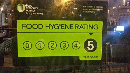 food hygiene rating for kaveris kitchen