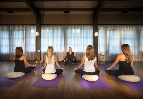 Old Edwards Inn and Spa : Meditation Class in Old Edwards Wellness Center