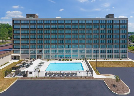 When it's hot in Fort Washington, take a dip in our renovated pool