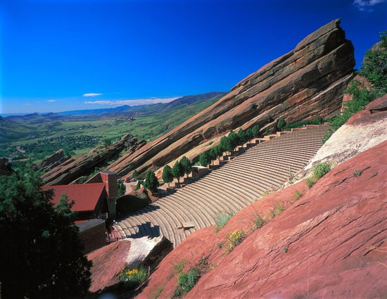 Red Rocks Amphitheater near Lakewood