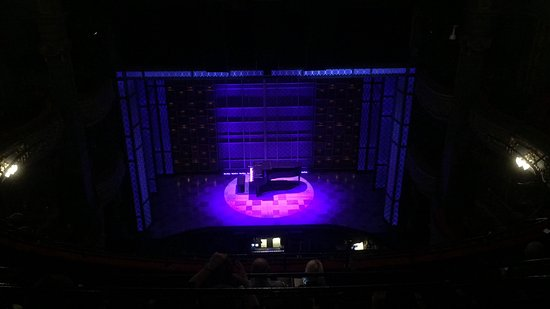 Aldwych Theatre: View from seat 'G15', Grand Circle