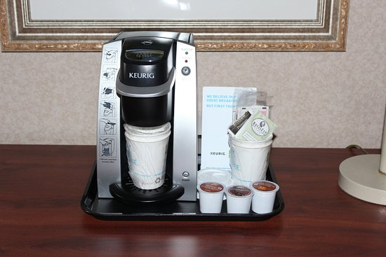 Wilmington, OH: Keurig's are in all of our rooms!