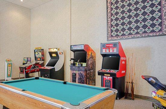Mission, Dakota del Sud: Game room