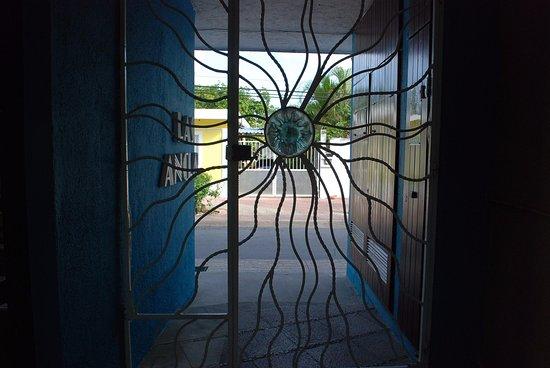 Villas Las Anclas: Main Gate