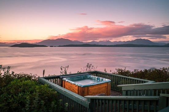 Bamfield, แคนาดา: Guest Hot tub
