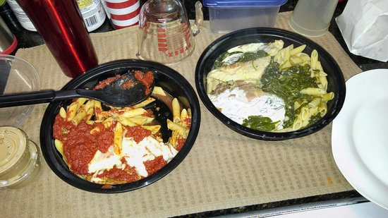 Trenton, Nueva Jersey: Eggplant Parm and Chicken Saltimbocca!