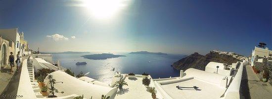 Firostefani, Grecia: Explendid view to Caldera. Greek island of Santorini