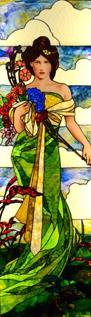 Evermore Guesthouse: Stained Glass - Spring