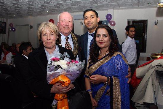 Clay Cross, UK: mayor , opening cermony in ripley branch