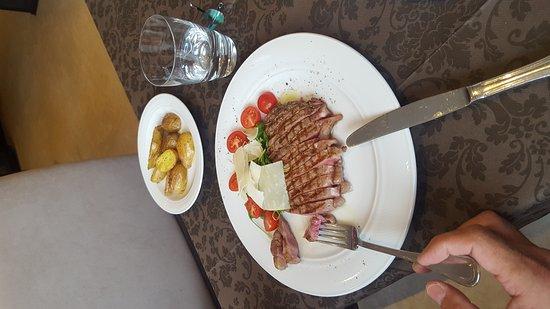 Faak am See, Áustria: Steak