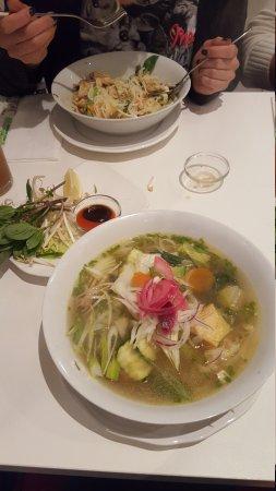 Vietthao: Vegetarische Pho