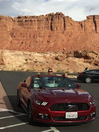 Marble Canyon, AZ: con questa è l'ideale.