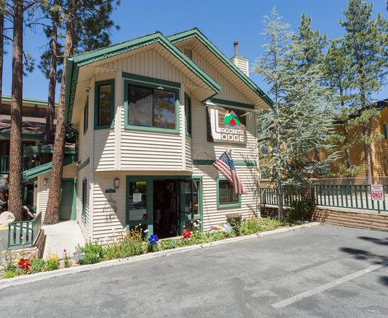 lagonita lodge big bear ca review of lagonita lodge. Black Bedroom Furniture Sets. Home Design Ideas