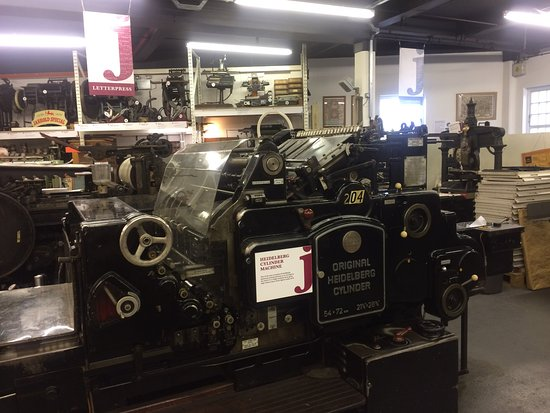 John Jarrold Printing Museum: One of the splendid machines