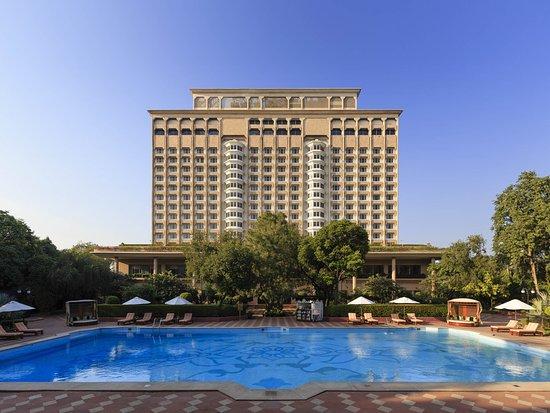 Facade The Taj Mahal Hotel ,New Delhi