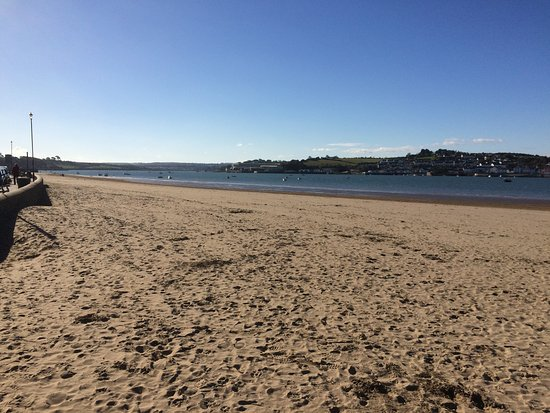 Instow Beach looking across to Appledore and upstream to Bideford