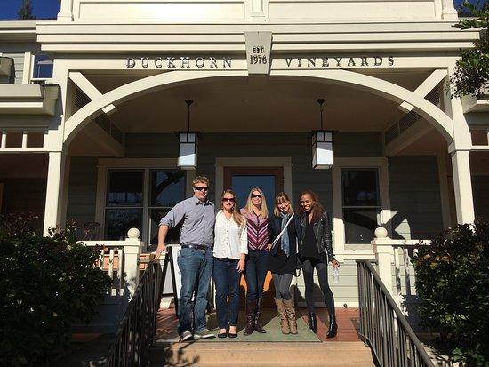 Danville, CA: Duckhorn winery- a special Napa valley experience