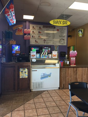 hogwild family fun center we have an amazing snack bar with weekly specials on food