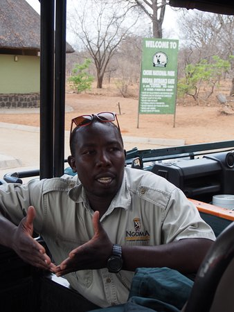 Ngoma Safari Lodge: MK, Botswana's best guide!