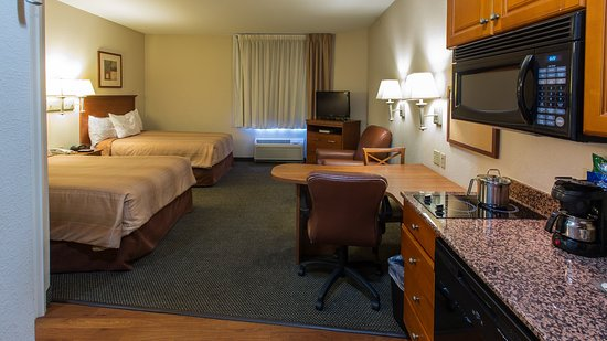 Candlewood Suites Knoxville Airport-Alcoa : Double Guest Bed Room