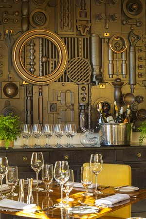 Menlo Park, Califórnia: Madera - wine setup