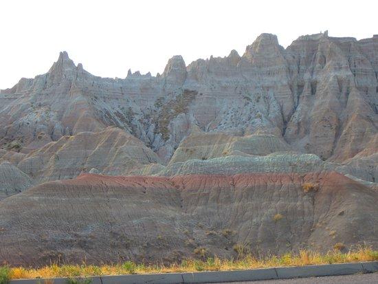 Badlands Wall: Badlands colors